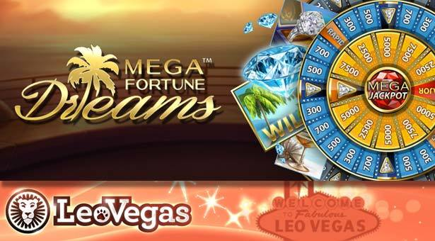 Mega Fortune Dreams slot is a dream come true