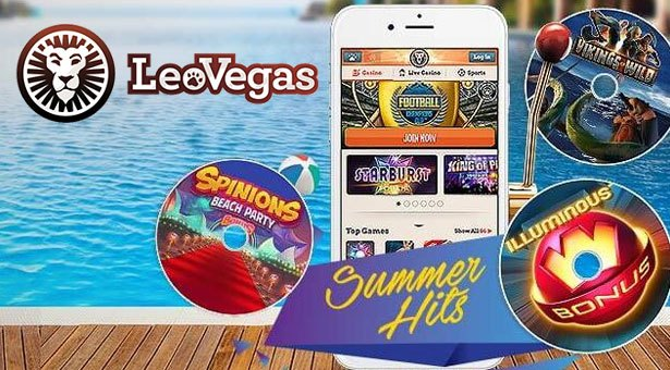 Another Week of Summer Hits at Leo Vegas