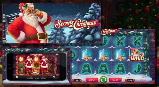 Secrets of Christmas Released at NetEnt Casinos