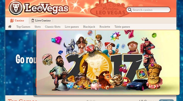 €50K New Year's Eve Giveaway at Leo Vegas