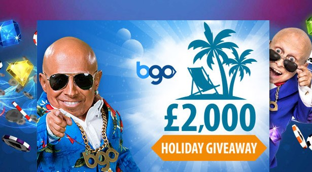 Win One of Four Holidays at BGO Casino