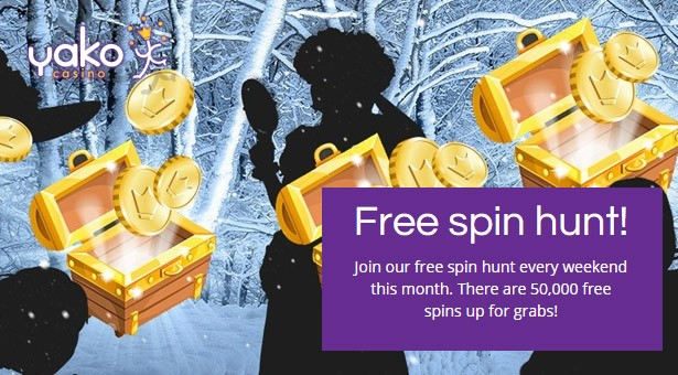 Join the Free Spin Hunt at Yako Casino