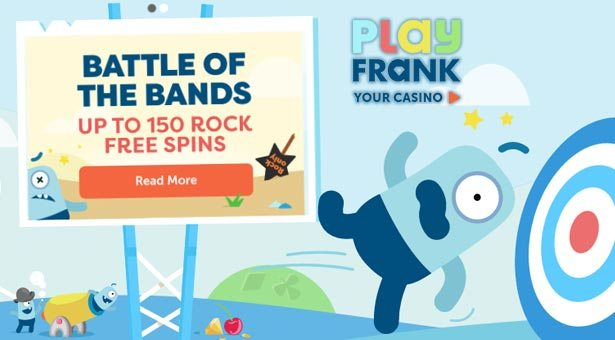 Free Spin Promos at Play Frank Casino