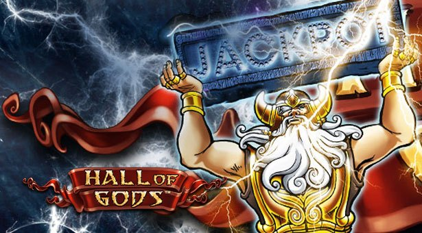 Hall of Gods Jackpot Worth Over €5 Million