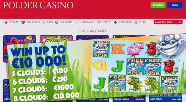 Flowers Slot Challenge at Polder Casino