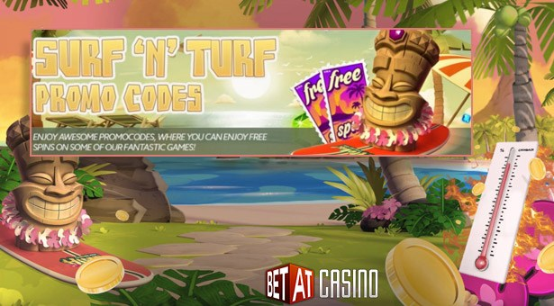 Surf 'n Turf Promotion at BetAt Casino