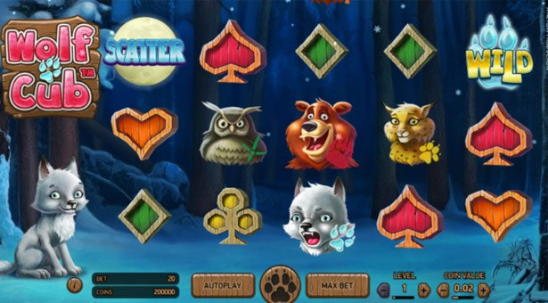 Wolf Cub Slot for General Release Soon