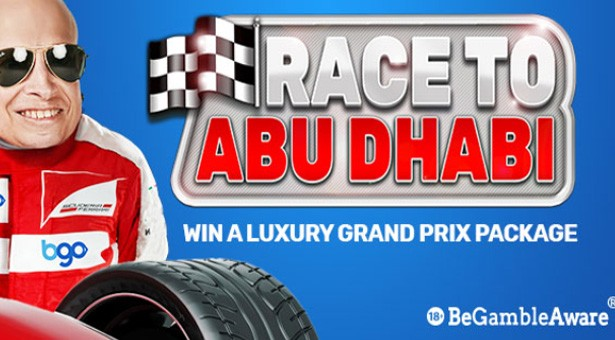 Race to Abu Dhabi at BGO Casino