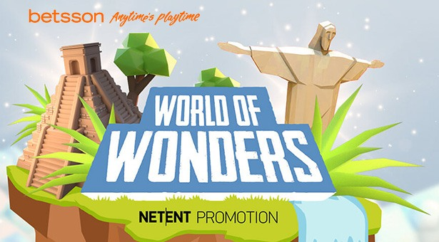 NetEnt's World of Wonders Promotion at Betsson